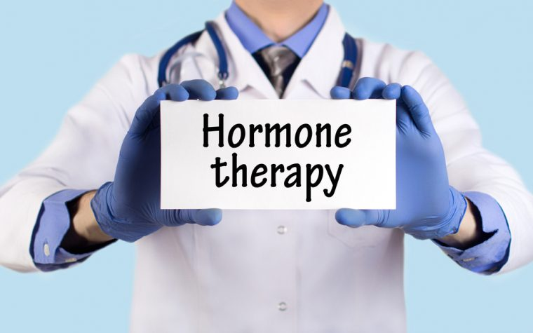 hormone depletion activates PARP